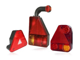 Driehoek Achterlichten