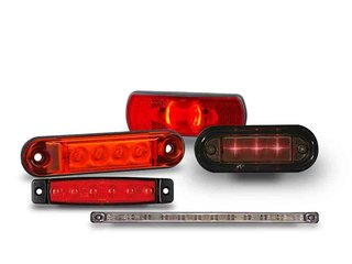LED Achtermarkering Rood