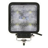 15W LED Werklamp Vierkant_