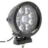 45W LED verstraler zwart_