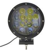 60W LED verstraler zwart_