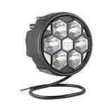 LED Werklamp Verstraler 2500LM + Kabel + Achtermontage_