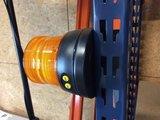 LED Zwaailamp op Batterijen en Magneet_