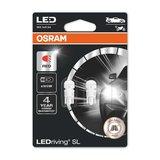 Osram W2.1x9.5d LED Retrofit Rood Set 12 volt_