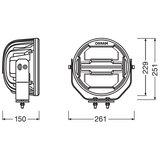 Osram LED Verstraler Round MX260-CB_