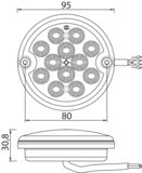 LED Mistlamp 9-33V_