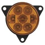 LED richtingaanwijzer achterkant rond Oranje Lens_