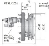 Koplamp H4 Ø150x79 H4 Elektrisch verstelbaar_