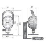 Mobiele 1500LM LED Werklamp Breedstraler_