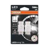 Osram P27/7W LED Retrofit Wit 12V W2.5x16q 2 Stuks_