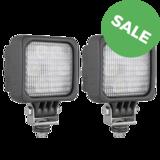 2X LED werklamp breedstraler 1500LM + Deutsch-DT_