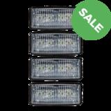 4x Inbouw LED Werklamp John Deere_
