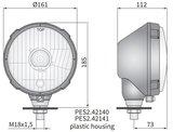 koplamp Ø161x115 H4 Rechts_