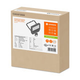 20W LED Bouwlamp 230V + Sensor 4000K_