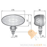 Waterdichte-IP69K-aluminium-behuizing-werklamp