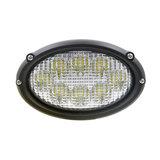 Inbouw LED Werklamp Ovaal_