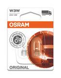 Osram Gloeilamp 24V Original Line W3W, W2.1x9.5d 2 Stuks_