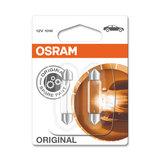 Osram Gloeilamp 12V SV8.5-8 Original Line 2 Stuks_