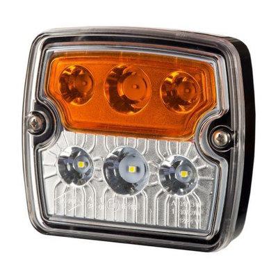 Horpol LED Voorlamp Vierkant 12-24V LZD 2239