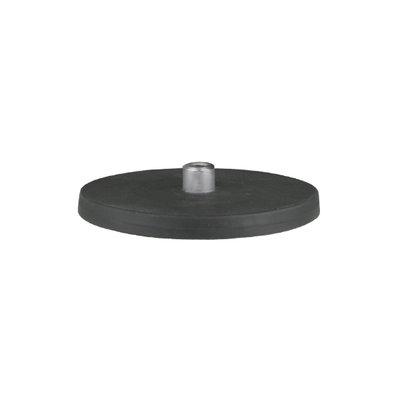 Neodymium Magneet 25KG Rubber M8 schroefdraad