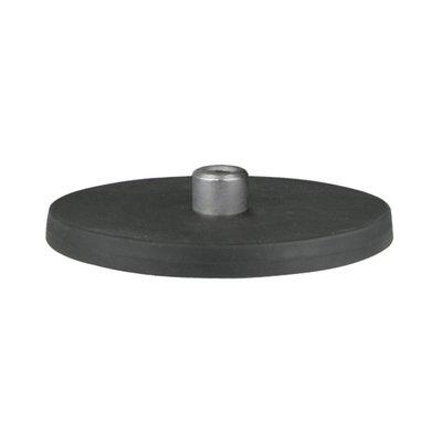 Neodymium Magneet 50KG Rubber M8 Schroefdraad