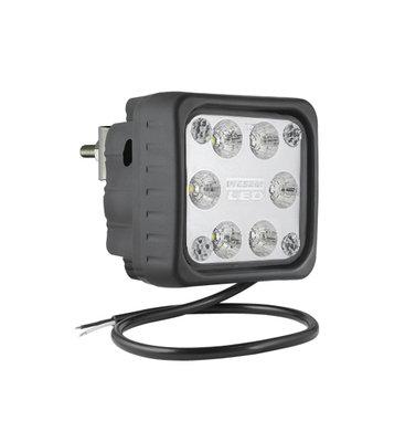 LED Werklamp Verstraler 2500LM + Kabel + Achtermontage