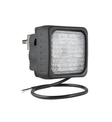 LED Werklamp Breedstraler 2500LM + Kabel + Achtermontage