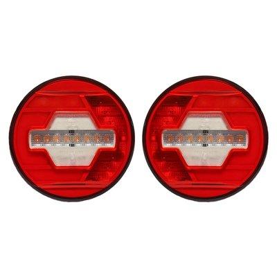 LED Achterlicht Ø140mm + Dynamische richtingaanwijzer