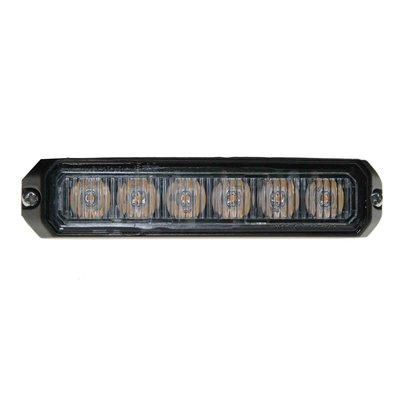 LED flitser 4-voudig compact