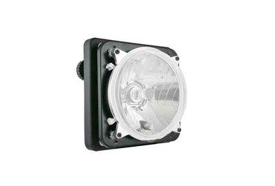 koplamp Ø139 131x75, H4