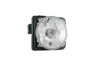 koplamp Ø150/142x77, H4, Elektrisch verstelbaar