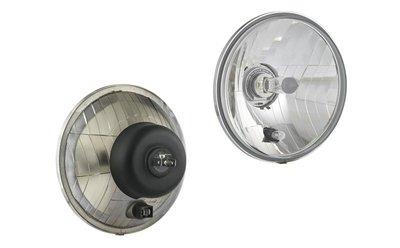 koplamp Ø161x115, H4, metaal