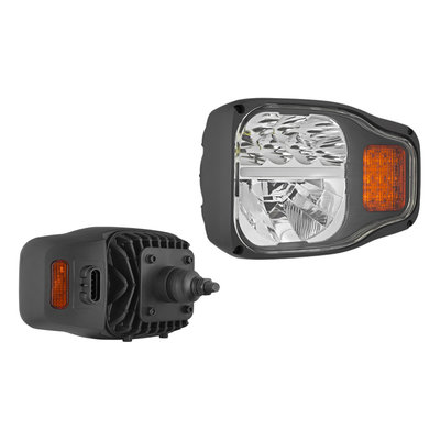 LED Koplamp Met Achtermontage Links + AMP-Superseal