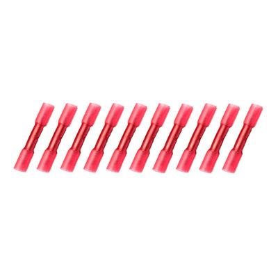 Kabelschoenen Met Krimpkous Waterdicht Rood (0.5-1.5mm)