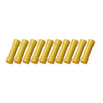 Doorverbinder Geïsoleerd Geel (4-6mm)