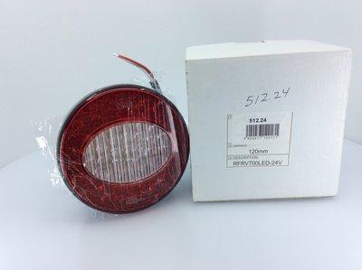 Perei LED Achterlicht 120mm 24V