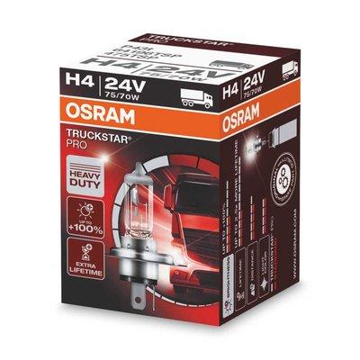 Osram H4 Halogeenlamp 24V 75/70W P43t Truckstar Pro