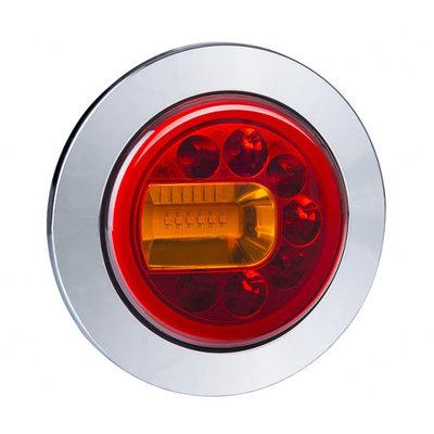 Horpol LED Achterlicht Links Chrome LUNA LZD 2448