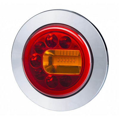 Horpol LED Achterlicht Rechts Chrome LUNA LZD 2449