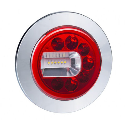 Horpol LED Mist- en Achteruitrijlamp Links Chrome LUNA LZD 2452