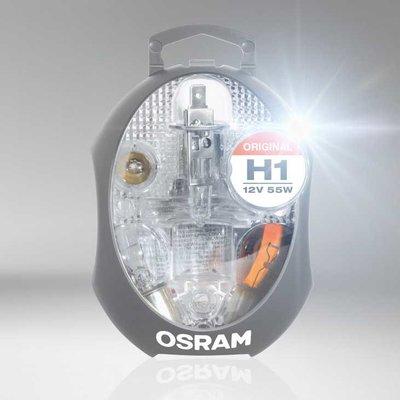 Osram H1 Set Reservelampen 12V Auto