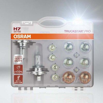 Osram H7 Truckstar Pro Set Reservelampen 24V Truck