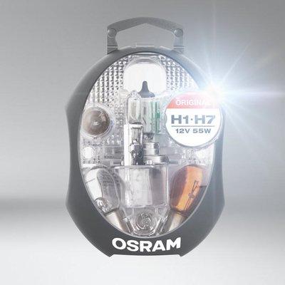 Osram H1+H7 Set Reservelampen 12V Auto