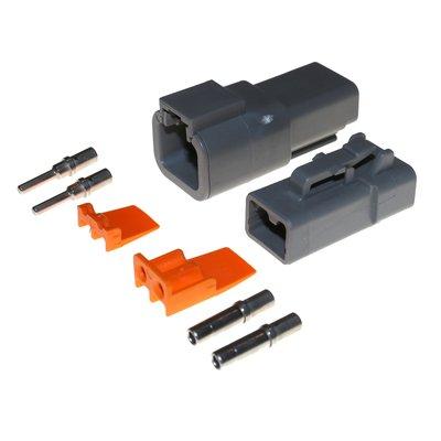 Deutsch-DTP 2-pins connector