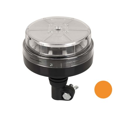 LED zwaailamp DIN-montage Oranje