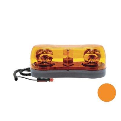 Mini Halogeen Zwaaibalk Magneet Oranje