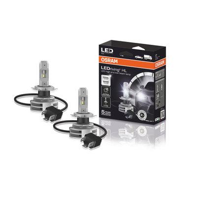 Osram H4 LED Koplamp P43t Set 12-24 volt
