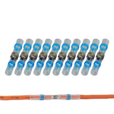 Soldeerhuls Waterdicht Blauw (1.5-2.5mm) 100 Stuks