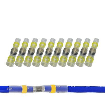 Soldeerhuls Waterdicht Geel (4-6mm) 100 Stuks