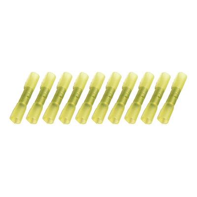 Kabelschoenen Met Krimpkous Waterdicht Geel (4-6mm) 100 Stuks